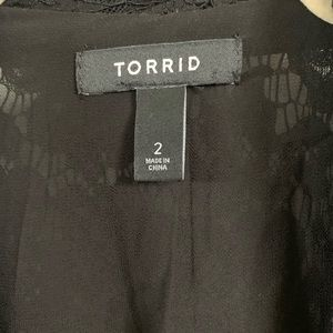 torrid Jackets & Coats - Torrid Lace Blazer